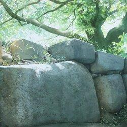 Пазл онлайн: Старая каменная стена