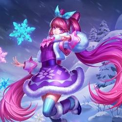 Пазл онлайн: Снежинка
