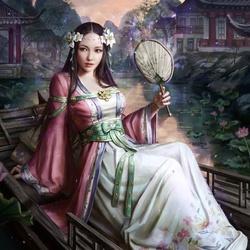 Пазл онлайн: Huifang / Хуйфан