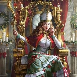 Пазл онлайн: Рождественская королева Лананоэль