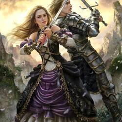 Пазл онлайн:  Скрещенные мечи