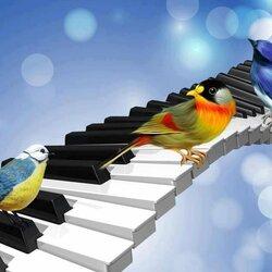 Пазл онлайн: Музыка весны