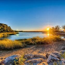 Пазл онлайн: Восход солнца
