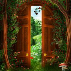 Пазл онлайн: Волшебные ворота
