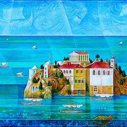 Пазл онлайн: Античные моря