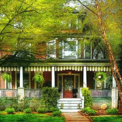 Пазл онлайн: Викторианский дом
