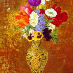Пазл онлайн: Китайская ваза
