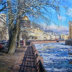 Пазл онлайн: Весна в Петербурге