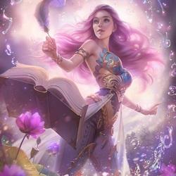 Пазл онлайн: Волшебная книга