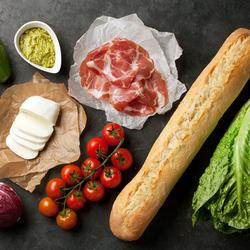 Пазл онлайн: Все для ужина