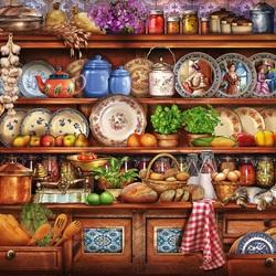 Пазл онлайн: На кухне