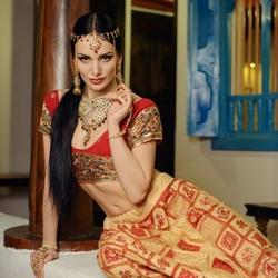Пазл онлайн: Индийский стиль