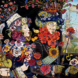 Пазл онлайн: Царица Цветочного Царства