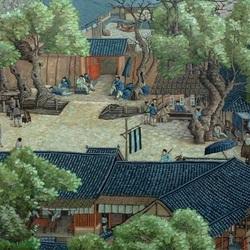 Пазл онлайн: Праздник Цинмин на реке Бяньхэ