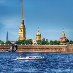 Пазл онлайн: Петропавловская крепость