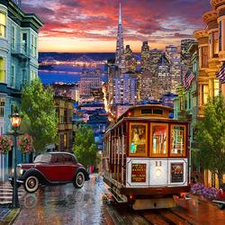 Пазл онлайн: Сан-Франциско