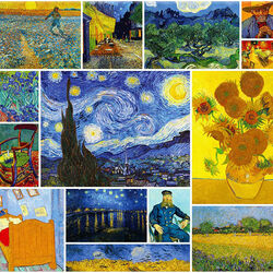Пазл онлайн: Винсент ван Гог