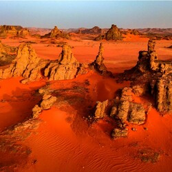 Пазл онлайн: Марсианский пейзаж