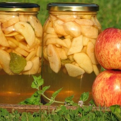 Пазл онлайн: Яблочный компот