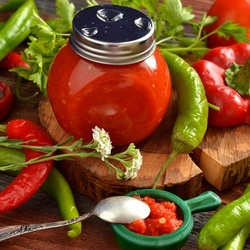 Пазл онлайн: Кетчуп чили