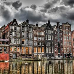 Пазл онлайн: Город в Голландии