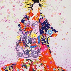 Пазл онлайн: Цветы душистых слив