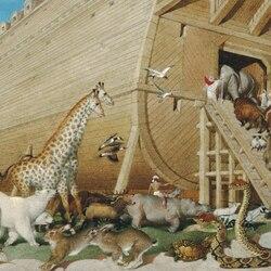 Пазл онлайн: Ноев ковчег