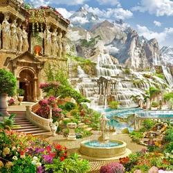 Пазл онлайн: Римский полдень