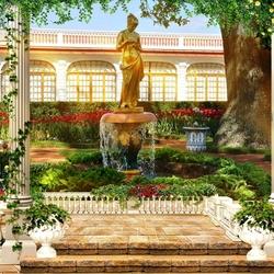 Пазл онлайн: В греческом саду