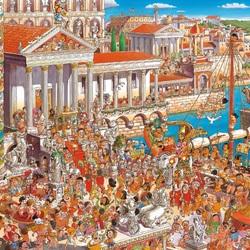 Пазл онлайн: Древний Рим