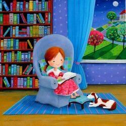 Пазл онлайн: Читаем сказки