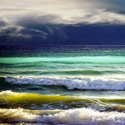 Пазл онлайн: Пятьдесят оттенков моря
