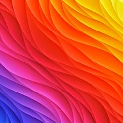 Пазл онлайн: Цветные разводы