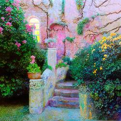 Пазл онлайн: Каменная лестница