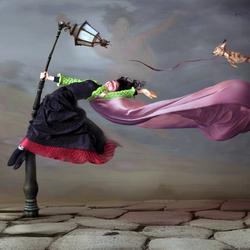 Пазл онлайн: Немного ветрено