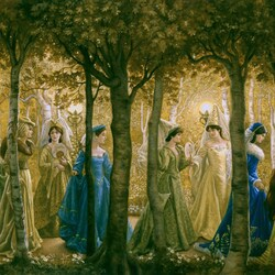 Пазл онлайн: Двенадцать танцующих принцесс
