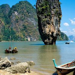 Пазл онлайн: Лодки в заливе