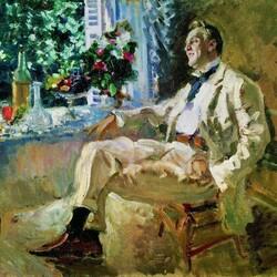 Пазл онлайн: Портрет Федора Шаляпина