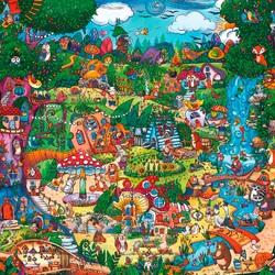 Пазл онлайн: Чудесный лес / Wonderwoods