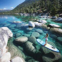 Пазл онлайн: На озере Тахо