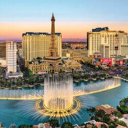 Пазл онлайн: Лас Вегас
