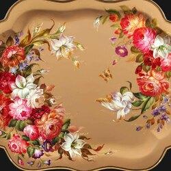 Пазл онлайн: Цветочные гирлянды
