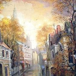 Пазл онлайн: Осень в старом городе