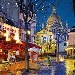 Пазл онлайн: Париж осенью