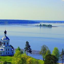 Пазл онлайн: Озеро Селигер