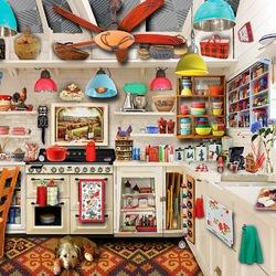 Пазл онлайн: Ретро-кухня