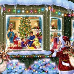 Пазл онлайн: Подарки на Рождество