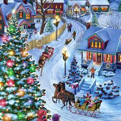 Пазл онлайн: Jingle Bells / Звон колокольчиков