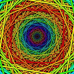Пазл онлайн: Цветная текстура
