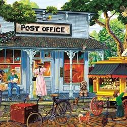 Пазл онлайн: Почта